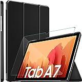 ELTD Custodia Cover+Pellicola Protettiva [Combinazione] per Samsung Galaxy Tab A7 10.4 2020, Stand Case Cover+ Vetro…