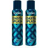 Amazon Brand - Solimo Coastal Splash Deodorant for Men, 120 milliliters