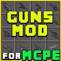 Mods: for pe Guns Mods for MCPE pro