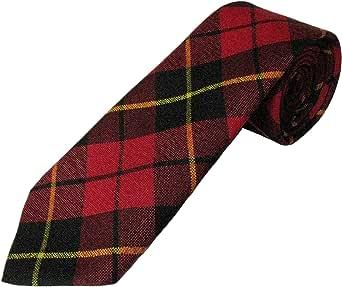 100% Wool Tartan Tie - Wallace
