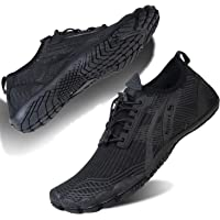 Water Shoes Mens Womens Barefoot Beach Shoes Swim Shoes Quick Dry Aqua Shoes Wetsuit Shoes for Pool Swimming Surfing…