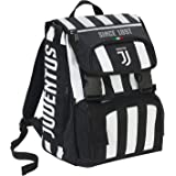 Zaino Estensibile Big Juventus Coaches, 28 Lt, Bianco/Nero, 41 cm