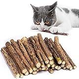 30 stks/set Cat Catnip Sticks, Cat Chew Sticks, Cat Catnip Toys, Natural Matatabi Silvervine Chew Sticks, Tandenknarsen Kauws