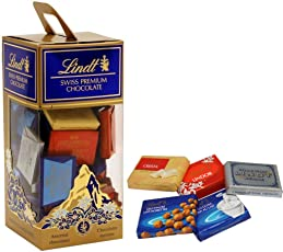 Lindt Swiss Premium Assorted Naps Chocolates, 350g