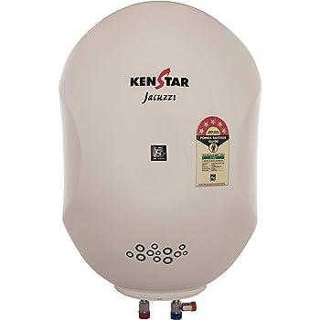 Kenstar Jacuzzi KGS10W5P-GDE-PL 10-Litre 2000-Watt Storage Water Heater (Ivory)