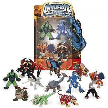6fc8e4d3c6 Dinofroz – Blister di 4 Dinos (Giochi Preziosi 07967), Modelli Assortiti