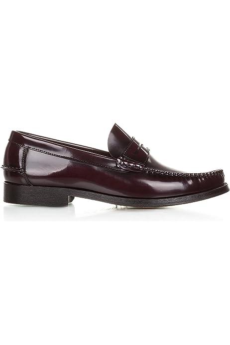 Castellanisimos Zapato Blucher Piel Florentic Burdeos Hombre 44 EU ...