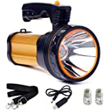 CSNDICE Led-oplaadbare handheld koplamp hoge prestaties super helder 9000 MA 6000 lumen Cree tactische koplamp fakkel lantaar
