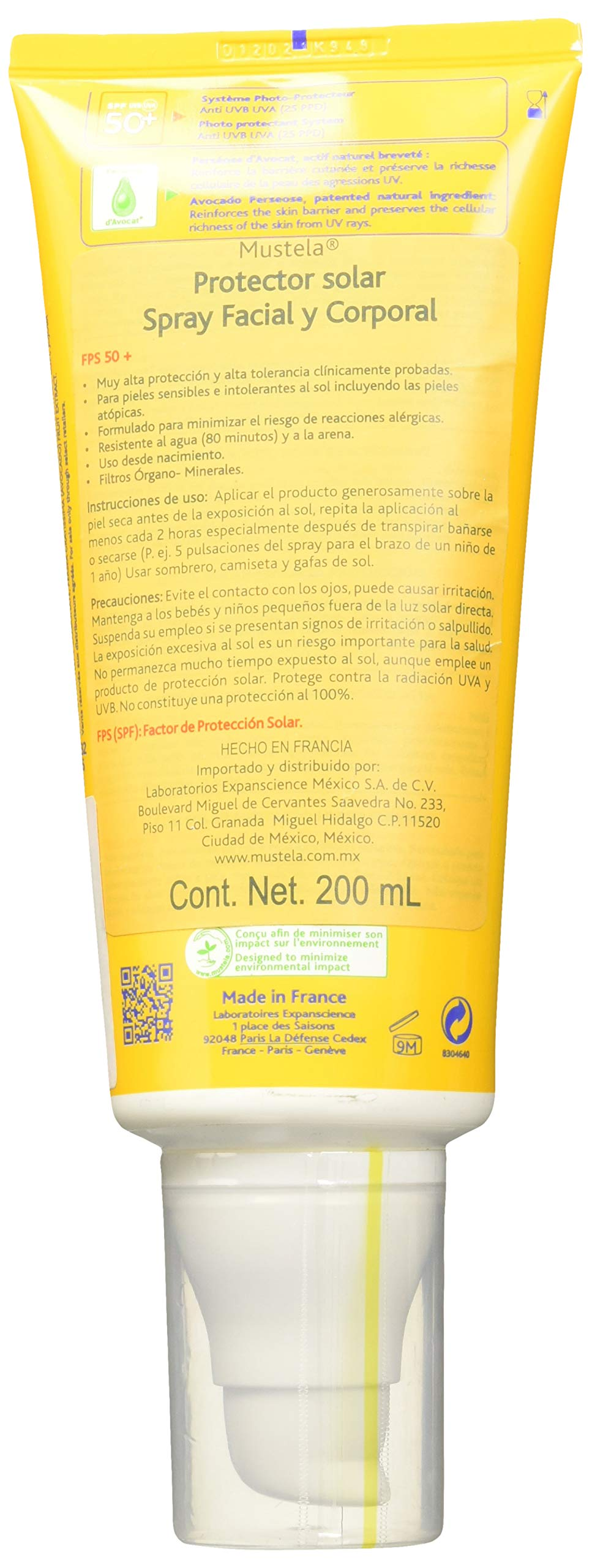 Mustela Bebé Sun Lotion SPF 50+ Crema – 200 ml