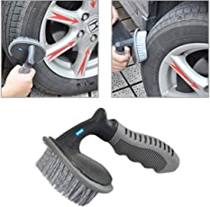Nikavi NKVTIRE001 Car Wheel Tire Rim Scrub Brush