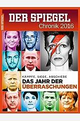 DER SPIEGEL: Chronik 2016 Broschiert