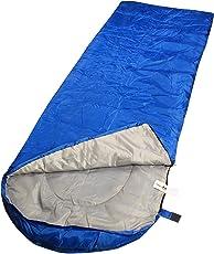 Krishyam Cotton Waterproof Hooded Sleeping Bag, Multicolour