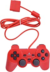 PS-2 Wired Dualshock Remote Controller for PlayStation-2 (Red)