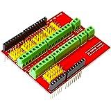 ZHITING Placa de expansión Proto Screw Shield V1 Compatible Arduino R3 Arriba
