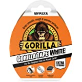 Gorilla Duct Tape Wit 10m, Doek, 48mm x