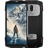 Téléphone Incassable, Blackveiw BV9000 Pro Téléphone Portable Étanche/Antichoc/Anti-Poussières avec 128GB ROM+6GB RAM Dual Cameras 13MP+5MP, Smartphone Debloque avec 4G Affichage 18:9 FHD, Argent
