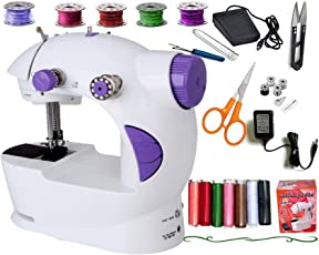 Vivir Ming H Advance Multinational Sewing Machine with Kit Accessories (White, sewing machine for home)