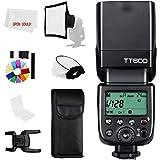 Godox TT600 2.4G GN60 - Cámara maestro/esclavo, mando a distancia, flash universal con un contacto para Canon, Nikon, Sony, P
