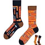 TODO COLOURS - Calcetines divertidos con diseño - Mejor ingeniero - Multicolor - Calcetines para individualistas hombre y muj