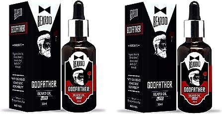 Beardo Godfather Lite Beard and Moustache Oil - 30 ml (Pack Of 2)