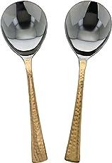 Serving Spoons Set of 2 Indian Dinnerware Serveware