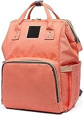Baby Bucket Diaper Bag/Baby Bag/Mummy Bag/Handbag/Nursery Bag Stylish Maternity com Travelling Backpack (Light Pink)