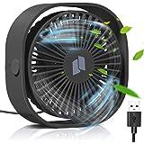 TedGem USB-ventilator, kleine handventilator, pc-ventilator, USB-ventilator, geluidsarm, eenvoudig te dragen, voor kantoor, t