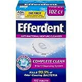 Efferdent Original Anti-Bacterial Denture Cleanser Tablets | 102 Count | Packaging May Vary