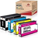 Toner Kingdom Cartucho de Tinta Compatible de Repuesto para HP 953XL para HP OfficeJet Pro 8710 8720 7720 7730 7740 8715 8718