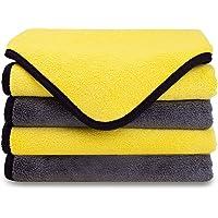 MATEPROX Chiffons de Polissage Premium en Microfibre, Ultra Absorbant Serviettes pour Nettoyage de Voiture ou Usage…