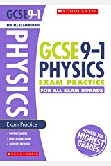 GCSE Physics Practice Book for All Boards. Perfect for Home Learning and includes a free revision app (Scholastic GCSE Grades 9-1 Revision and Practice) Paperback