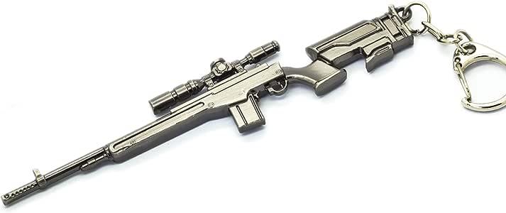 MiNGFi RPG-7 roquette Grenade Lanceur Mod/èle M/étal Porte-cl/é Pendentif