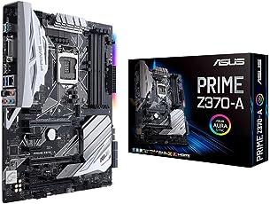 Asus Prime Z370-A Gaming Mainboard Sockel 1151 (ATX, Intel Z370, Coffeelake, 4x DDR4-Speicher, USB 3.1, M.2 Schnittstelle)