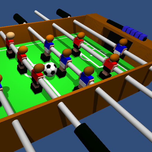 Table Football, Soccer, Foosball 3D