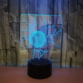 ... Optique Veilleuse Tennis Lumière De Nuit Avec Câble USB Et 7 Couleurs  Décoration Pour Enfant Chambre Chevet Table De Bébé Enfant Cadeau De Noël  Fête ... 99400e1cc071
