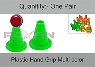 Vishwa Rubber Batting tee Pack of 2   5 inch Cricket Batting tee for Unisex Kids   muli Color Batting tee (Color May Vary)