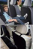 Araba Koltuk Arkası Koruyucu Kılıf 2 Adet - Siyah