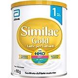 Similac Gold Latte per Lattanti, Latte in Polvere per Neonati dalla Nascita, Formula Esclusiva, Latte Artificiale con…
