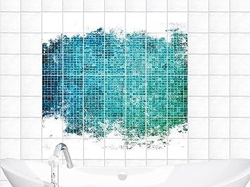 fliesenaufkleber sticker fliesenbilder für badezimmer mosaik ... - Fliesenbilder