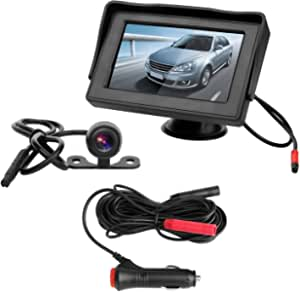 3t6b 4 3 Tft Led Car Rear View Camera Kit Elektronik