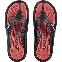 ADDA 2D SMAASH-1 Men's Black/Grey PVC Slipper Flip-Flop