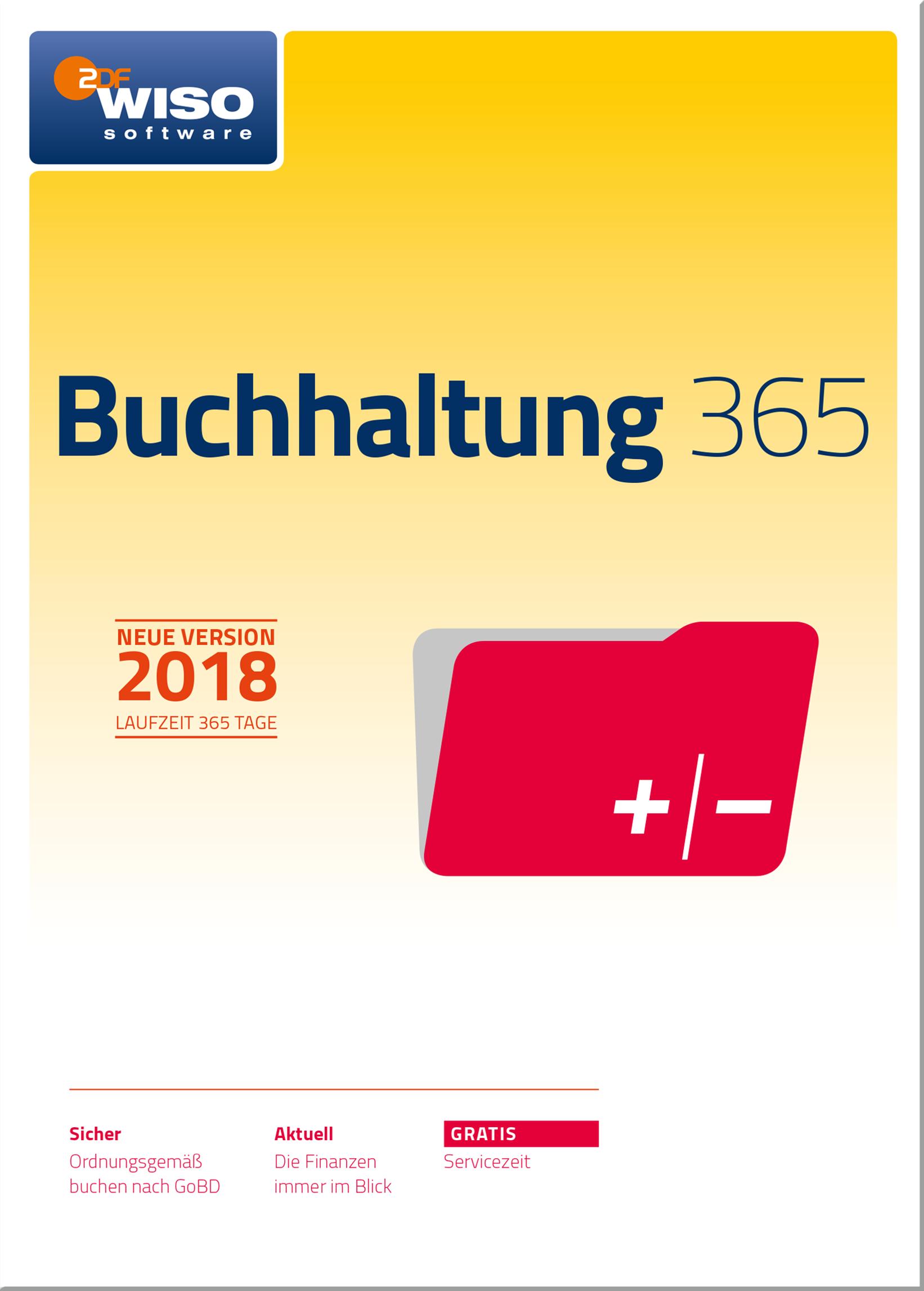 WISO Buchhaltung 365 (2018) [Online Code]
