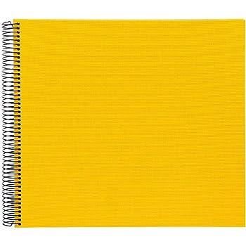 Spiralalbum Bella Vista rot 35x30 cm weiße Seiten Goldbuch