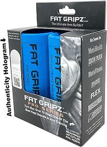 Fat Gripz - starker Bizeps und Armmuskulatur, die einfache und schnelle Art (Fat Grips) (Durchmesser 5,7 cm)