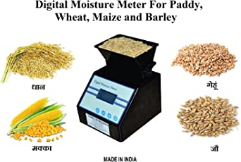 A-GRAIN AG-14 Paddy Moisture Meter (Blue and Black)