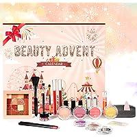Beauty Adventskalender 2021 mit Exquisite Kosmetik 24 Stück Bestes Geschenk Schönheitsprodukte für Mädchen Frauen…