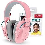 Alpine Muffy Casque Anti-Bruit : protection auditive pour enfants jusqu'à 16 ans - Confortable, réglable et ajustable - Prévi