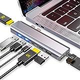EKSA Dual Hdmi USB C Hub Multiport Adapter for MacBook Pro & Air,8-in-1 Type C Hub Docking Station Triple Display with 2…