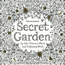 Secret Garden: An Inky Treasure Hunt and Colouring Book: An Inky Treasure Hunt