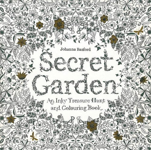 Secret Garden: An Inky Treasure Hunt and Colouring Book par Johanna Basford